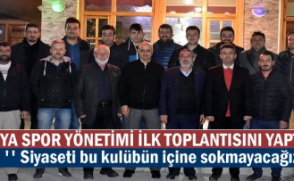 Tosya Spor Yönetimi Görev Dağılımı yaparak ilk toplantısını yaptı