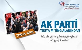 AK Parti Tosya Seçim Miting Alanından Kareler