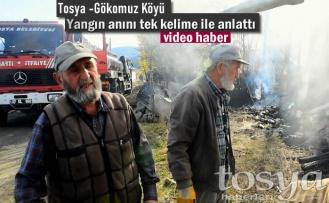Tosya-Gökomuz Köyü Yangın sonrası yaşananlar