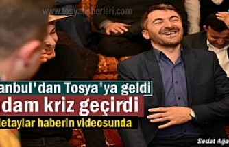 Tosya Ahi Yaren Ocağını Tosya Belediye Başkanı Kazım Şahin Yaktı