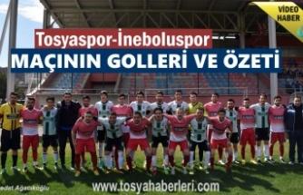 Tosyaspor-İnebolu Gençlikspor Maç Özeti