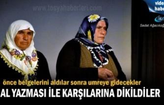 Tosya'da Okuma Yazma Seferberliğine katılan Kursiyerler UMRE'ye gidiyor