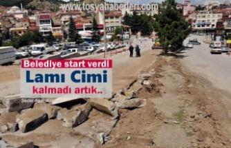 Tosya Belediyesi Asfalt Çalışmasına başladı