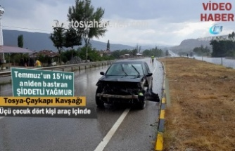 Tosya-Çaykapı Köyü Kavşağında Trafik Kazası