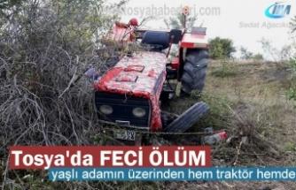 Tosya'da Traktör Kazasında Feci Ölüm