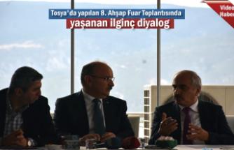 Tosya'da Yapılan 8.Ahşap Fuar Toplantısında yaşanan İlginç Diyalog