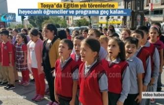 2018-2019 Eğitim ve Öğretim Yılı Tosya'da Törenlerle Başladı