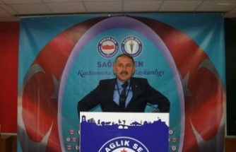 Sağlık-Sen'de Mevcut Başkan Mehmet Öz, Güven Tazeledi