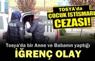 Tosya'da Çocuklarına cinsel istismarda bulunan baba ve anneye rekor ceza