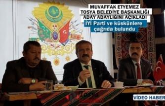 MHP Tosya Belediye Başkan Aday Adayı Muvaffak Etyemez Basın Açıklaması