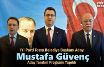 İYİ Partı Tosya Belediye Başkanı Adayı Mustafa Güvenç Aday Tanıtım Programı