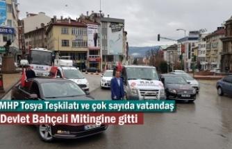 MHP Tosya İlçe Teşkilatı ve Vatandaşlar Kastamonu'ya akın etti