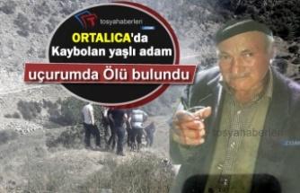 Ortalıca'da Süpürge Oto Toplamaya Giden Yaşlı Adamın Cenazesine Ulaşıldı