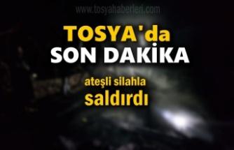 Tosya'da Ateşli Silahla Yaralama Olayı
