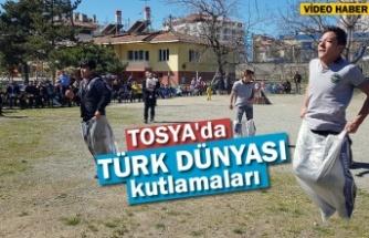 Türk Dünyası Ve Topluluklar Haftası Tosya'da Çoşku İçinde Kutlandı