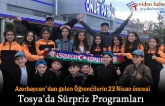 Azerbaycan Folklor Ekibi 23 Nisan Bayramı Öncesi Tosya'da
