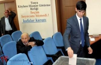 Tosya Köylere Hizmet Götürme Birliği'nde Seçim Yapıldı