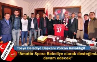 Tosyaspor Yönetiminden Başkan Kavaklıgil'e Ziyaret