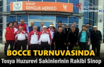 Tosya Huzurevi Bocce Takımı Sinop Huzurevi Takımına Yenildi