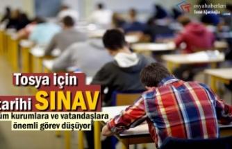 Tosya'da İlk Defa YKS Sınavı Yapılacak