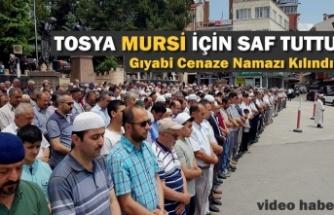 Tosya'da Mursi İçin Gıyabi Cenaze Namazı Kılındı