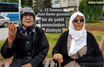 Tosya'da Şehit ve Gazi Anneleri 15 Temmuz Gecesini Anlattı