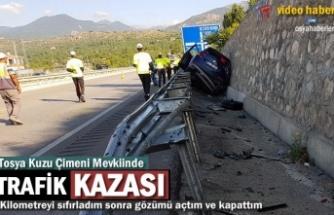 Tosya-Kuzuçimeni Mevkii Trafik Kazası