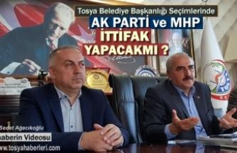 Tosya Belediye Başkanlığı Seçim İttifak