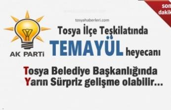 AK Parti Tosya İlçe Teşkilatı Belediye Başkanlığı için Temayüle Gidiyor