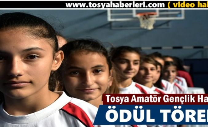 Tosya'da Amatör Spor Haftası etkinlikleri kupa töreniyle sona erdi