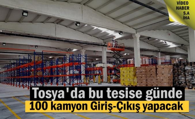 Tosya'da günde 100 kamyonun giriş-Çıkış yapacağı Tesis Açılıyor
