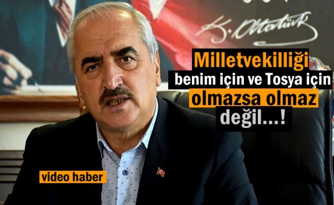 Tosya Belediye Başkanı Kazım Şahin Adaylıkla ilgili son noktayı koydu