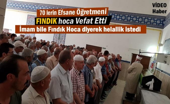 Tosya'nın Efsane Öğretmeni Fındık Hoca Vefat Etti