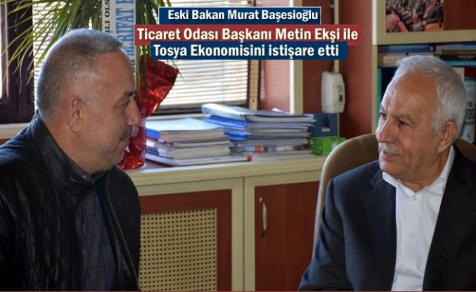 Eski Bakan Murat Başeskioğlu'' MHP Tosya Belediye Başkanı Adayı konusunda açıklama yaptı