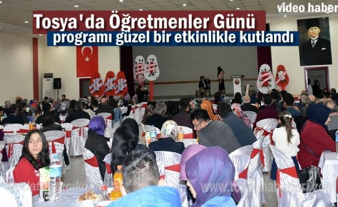 Tosya'da 24 Kasım Öğretmenler Günü Etkinliği