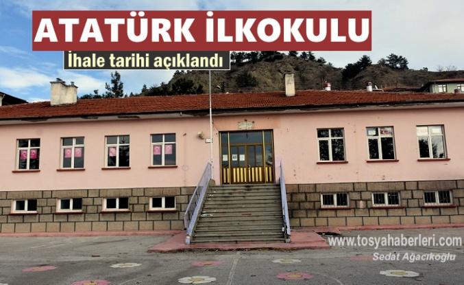 Tosya'da Atatürk İlkokulu Yapım İhalesi