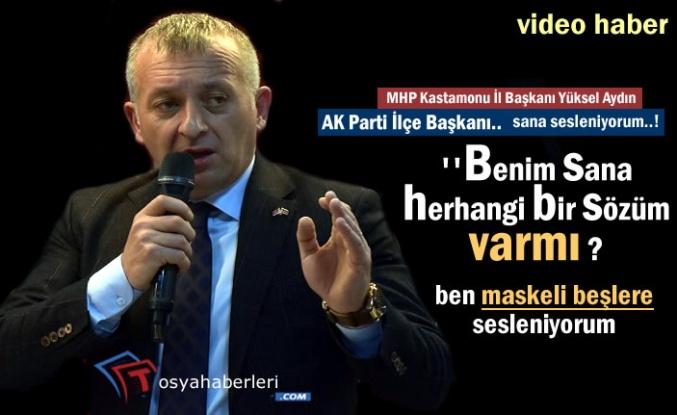 MHP Kastamonu İl Başkanı Tosya Belediye Başkanı Aday Tanıtım Programında Konuştu