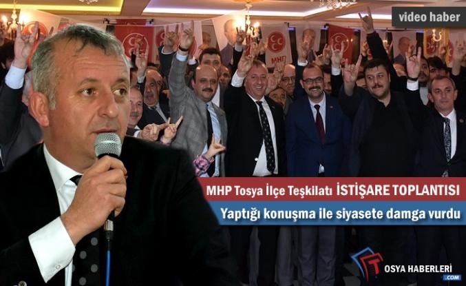 MHP Tosya İlçe Başkanlığı İstişare Toplantısı Yapıldı