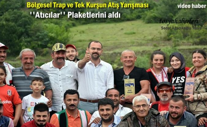 Tosya'da Bölgesel Trap ve Tek Kurşun Atış Yarışması Yapıldı