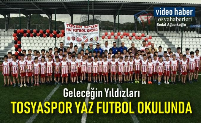 Geleceğin Yıldızları Tosyaspor Yaz Futbol Okulunda Yetişiyor