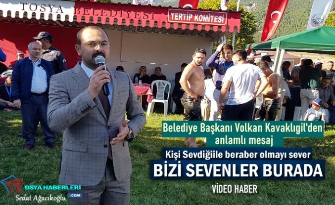 Tosya Belediye Başkanı Volkan Kavaklıgil Güreş Açılış Konuşması