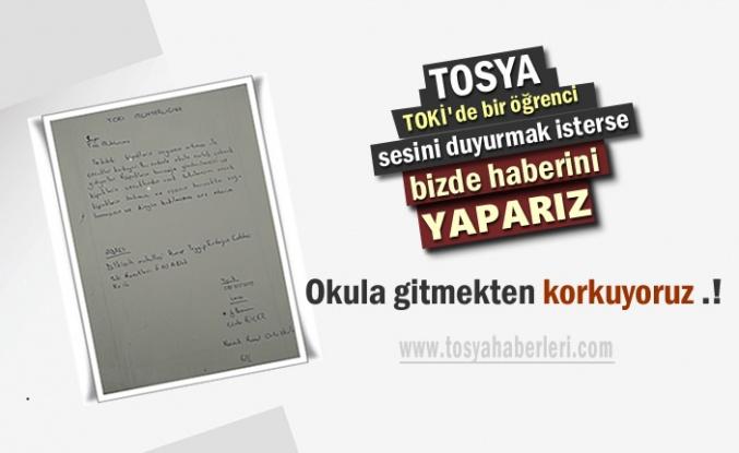 Tosya'da 6.Sınıf Öğrencisi Muhtardan Yardım İstedi