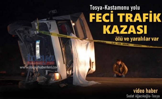 Tosya-Kastamonu Yolunda Feci Trafik Kazası