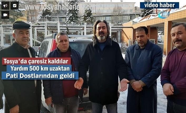 Tosya'da Yaşanan Soruna İstanbul'dan Yardım Geldi