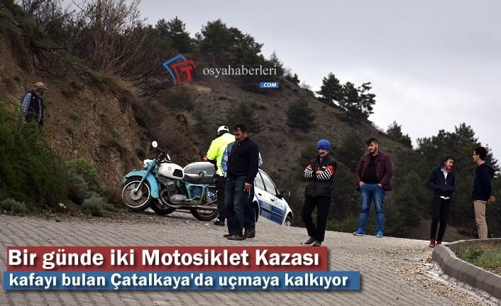 Tosya'da Bir Günde İki Motosiklet Kazası