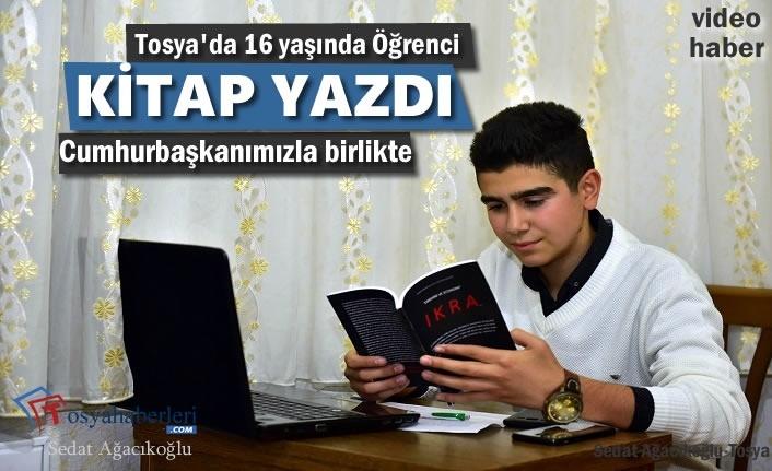 Tosya'da 16 Yaşında Öğrenci Kitap Yazdı