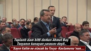 Ahmet Baş Tosya-Kastamonu yolu