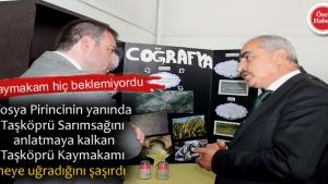Tosya Cumhuriyet Anadolu Lisesi'nde TÜBİTAK 4006 Bilim Fuarı açıldı.