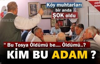 Tosya Köy Muhtarları Toplantısı