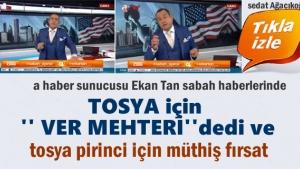 Erkan Tan Tosya için Ver Meheri dedi